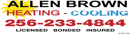 AllenBrown blue red logo
