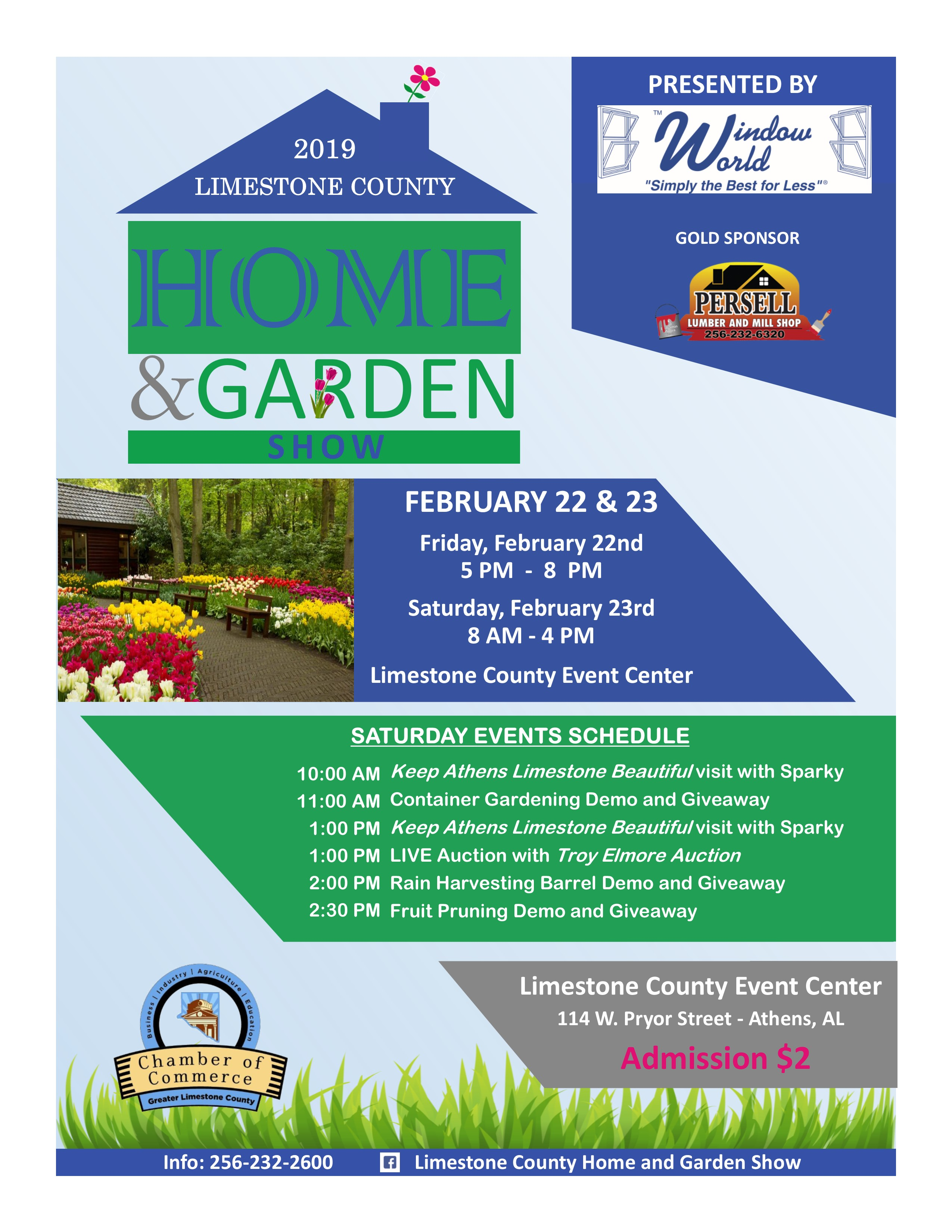 2019 Limestone County Home and Garden Show